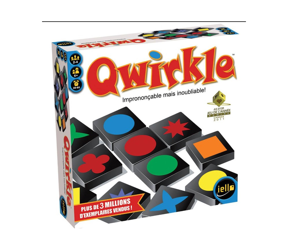 Qwirkle - jeu formes et couleurs