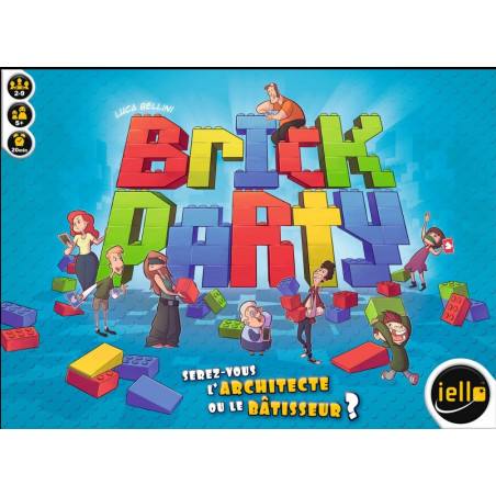 Brick Party - jeu de société construction