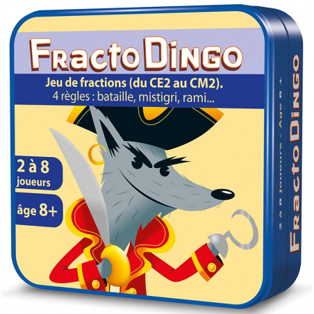Fractodingo - jeu sur les fractions (CE2 au CM2)