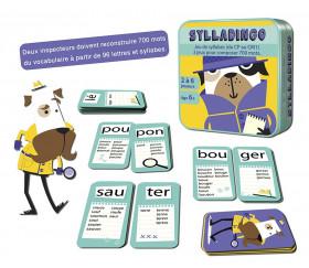 Sylladingo - jeu syllabes et vocabulaire