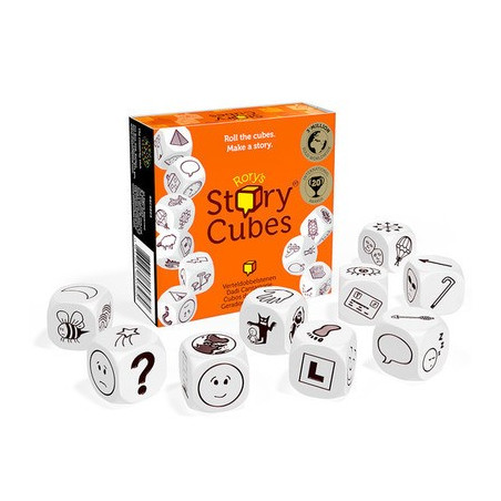 Story Cubes Original - Dés spéciaux pour jeux