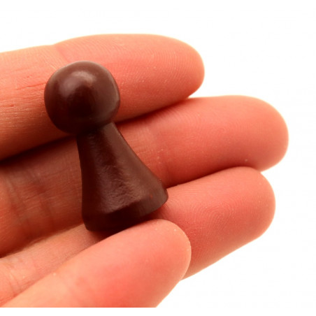 Pion de jeu en bois M de 27 x 15 mm