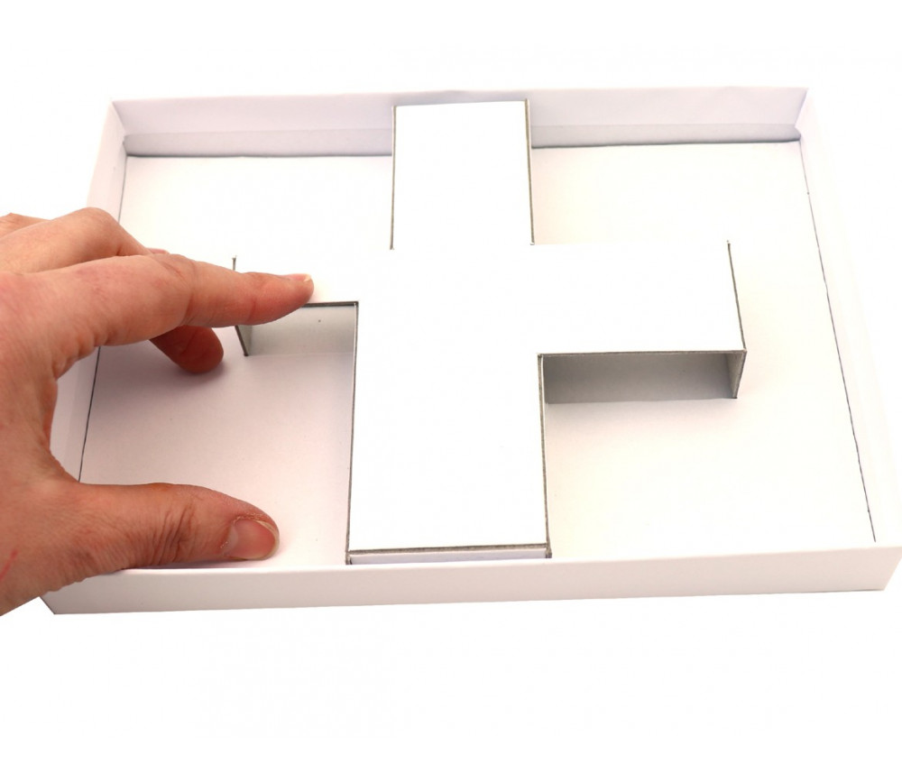 Calage carton pour boite R1
