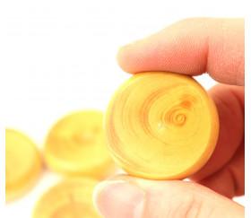 Palet crokinole naturel en buis de 32 mm