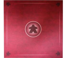 Tapis Meeple rouge Multijeux 60x60 cm