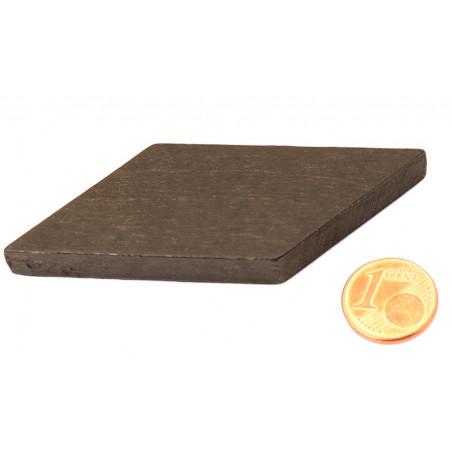 Parallèlogramme en bois 47 x 33 x 8 mm noir pour jeu achat en ligne