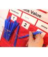 Tableau des valeurs avec pochettes