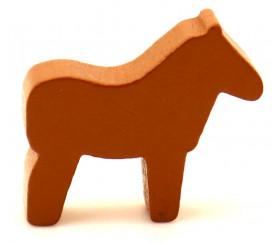 Pion cheval dada en bois pour jeux vente unité