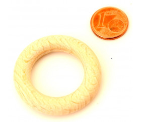 Cercle en bois 34 cm de diamètre anneau