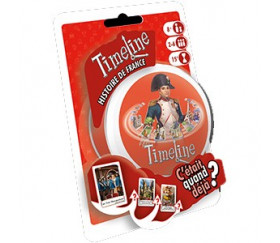 TimeLine Histoire de France jeu blister