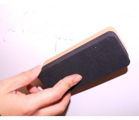 Brosse éponge  pour nettoyer ardoise ou dé effaçable