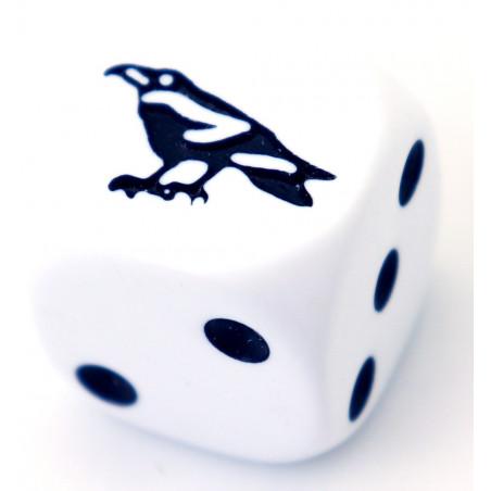 Dé spécial corbeau 23456 taille 16 mm