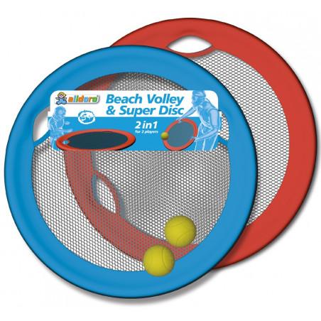 Raquettes rondes sans manches 2 disque 50 cm