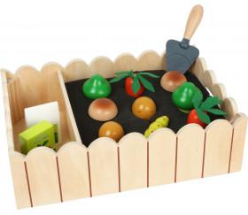 Jardin potager en bois avec kit de jeu