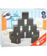 Cubes en bois ardoise