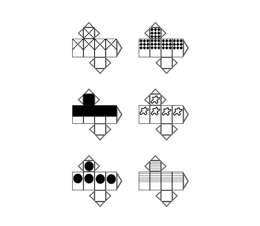 Pion rectangulaire noir et blanc gratuit pour jeu de société