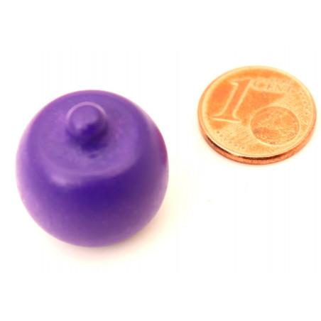 Prune en bois fruit violet de 20 x 20 mm