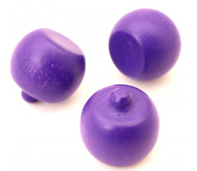 Prune en bois fruit violet de 20 x 20 mm