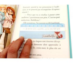 Assistant lecture règle renard  11 x 4 cm