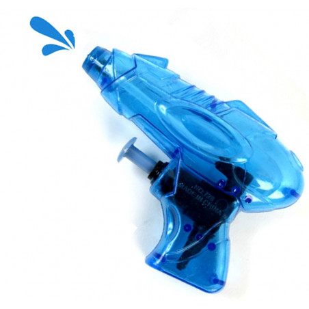 Pistolet à eau en plastique 9 cm