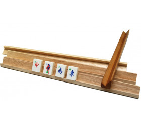 4 supports de pions pour jeu de lettres ou mah-jong