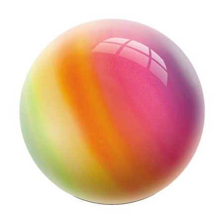 Ballon de jeu 23 cm arc en ciel
