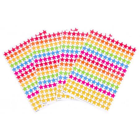 660 autocollants stickers étoiles
