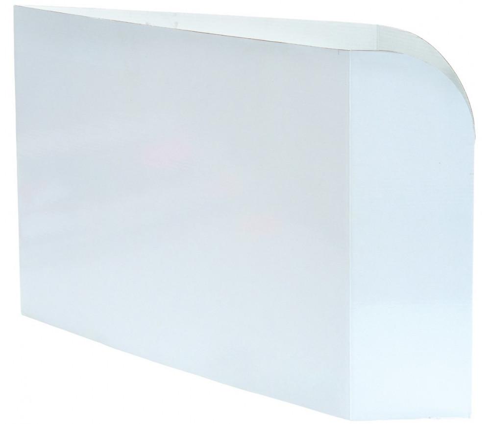 Paravent 28 x 12 cm - Mur blanc Cache table - écran masqueur pour joueur ou bureau