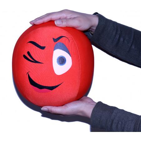 Ballon expression 21 cm doux emoticone émotion