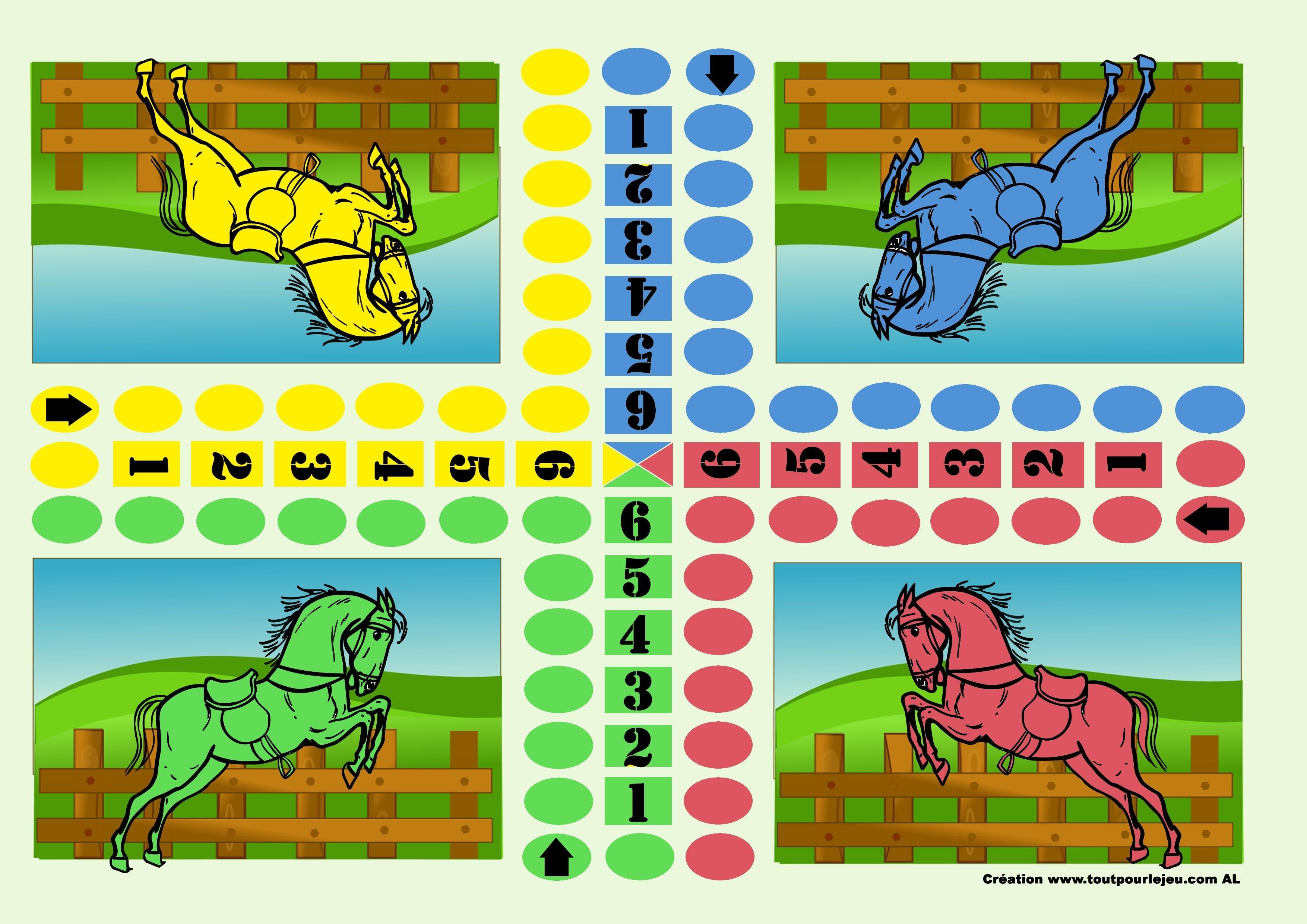 Luxe jeux de petits chevaux coloriage - Jeux dessin gratuit ...