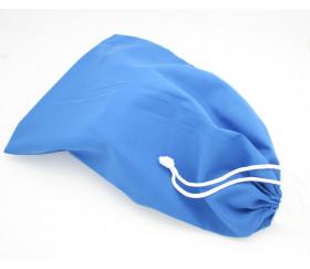 Sac tissu bleu M++ 25 x 20 cm pour pions de jeux