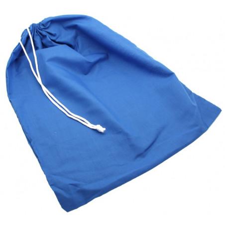 Sac tissu bleu XXL+ pochon 35 x 45 cm pour accessoires de jeux