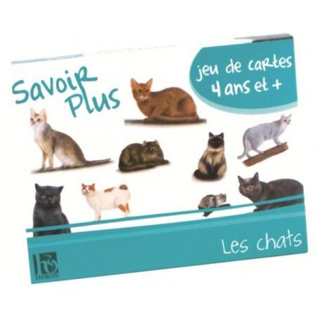 Jeu Mémoire Savoir plus les chats