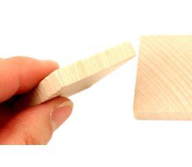 Jeu de mémo vierge en bois à personnaliser 40x40x7 mm