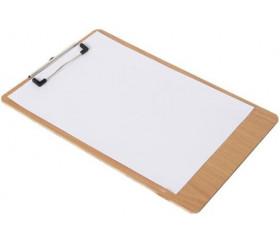 Porte bloc A5 - mini écritoire à pince bois (support pour noter)