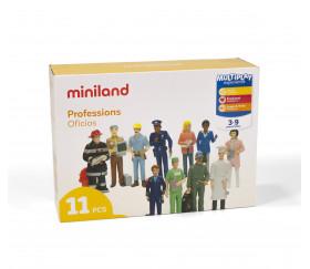 Personnages Métiers : 11 figurines de jeu réalistes 14 cm