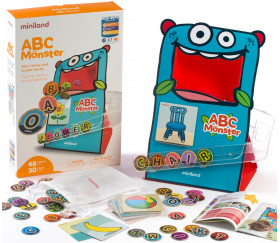 ABC Monster - jeu de lettres interactif