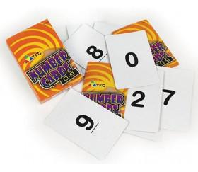50 cartes numérotées de 0 à 9