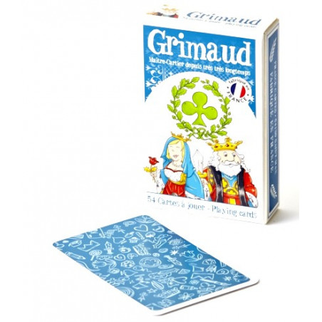 Mon 1er jeu cartes Junior Jeu 54 cartes GRIMAUD enfant