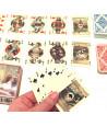 2 minis jeux 54 cartes Patience Sonet Morin