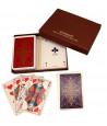 Coffret 2 jeux de cartes Bridge Vendome