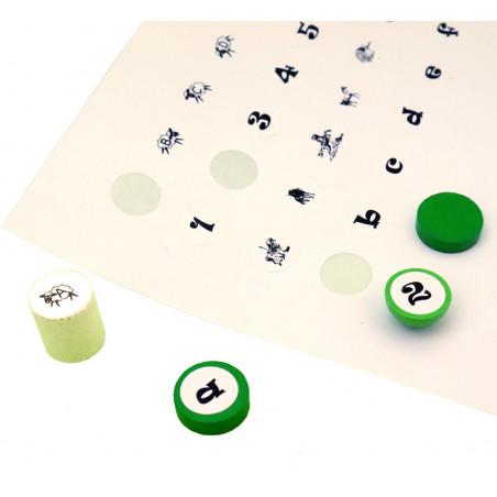 150 étiquettes 12 mm rondes autocollantes blanches pastille