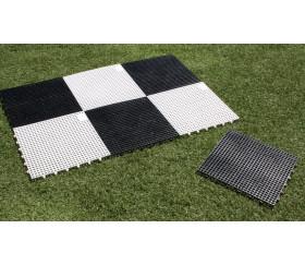 Echiquier géant XXL case 36 cm plateau échecs 2m80