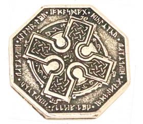 Pièce métal argenté Dwarven