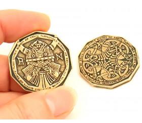 Pièce métal doré Dwarven