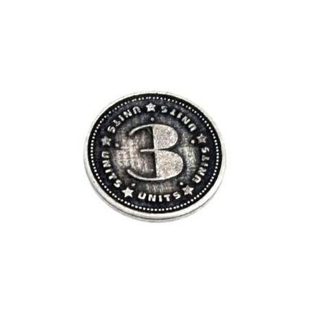 Pièces en métal unité valeur 3