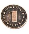 Pièce métal cuivré unité 1
