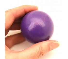 Boule bois VIOLETTE 50 mm diamètre bille hetre
