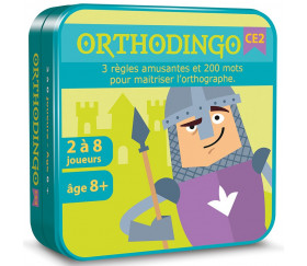 Orthodingo CE2 - jeu orthographe