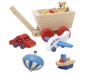 Miniatures jouets en bois